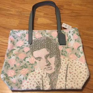 Coach Elvis Limited Edition floral tote! NWT!